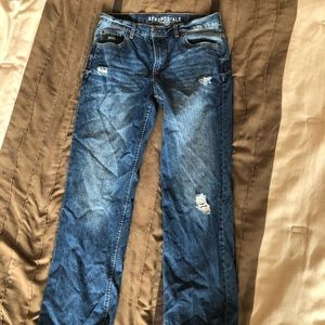 Distressed Aeropostale Jeans